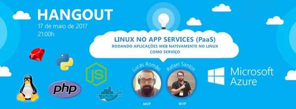 [Talk] Linux no App Services (PaaS)