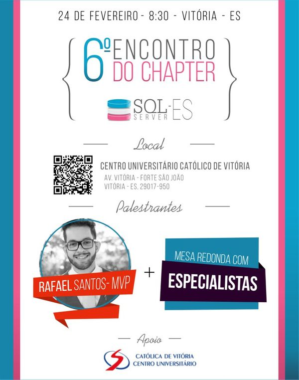 6º Encontro do SQL Server ES